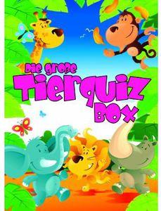 Die Gro E Tierquiz Box