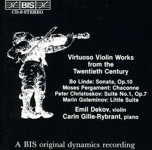 Virtuoso Violin Works from 20th Century /  Various