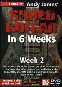 Andy James Shred Guitar in 6 Weeks: Week 2