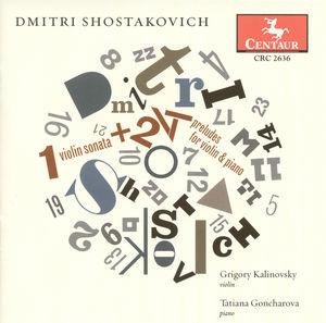Violin Sonata /  24 Preludes Violin & Piano