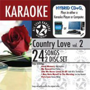 Karaoke: Country Love, Vol. 2