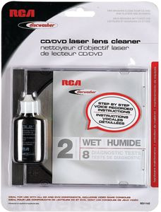 Discwasher RD1142 CD/ DVD Laser Lens Cleaning