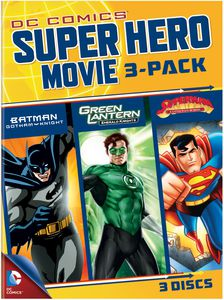 DC Superheroes Movies 3-Pack