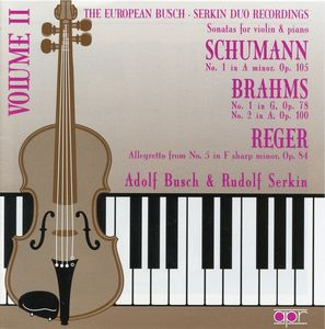 European Busch-Serkin Duo Recordings 2