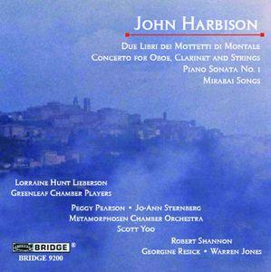 Music of John Harbison 1