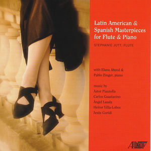 Latin-American and Spanish Masterpieces for Flute