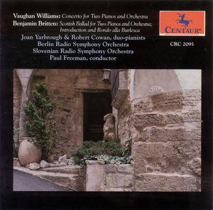 Cto for 2 Pianos /  Britten: Scottish Ballad, Intro
