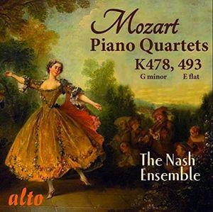 MOZART: The Two Piano Quartets K478 & K493
