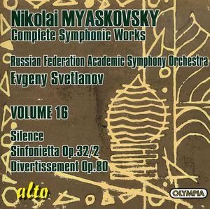 Silence Op 9 /  Sinfonietta /  Divertissement