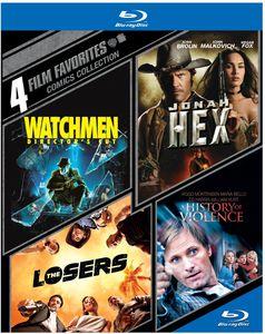 4 Film Favorites: Comics Collection