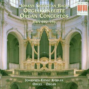 Organ Concerti BWV 592-595