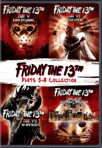 Friday The 13Th: Deluxe Edition Four Pack (V-VIII)