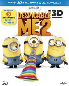 Despicable Me 2 (3D+2D+Uv) [Import]