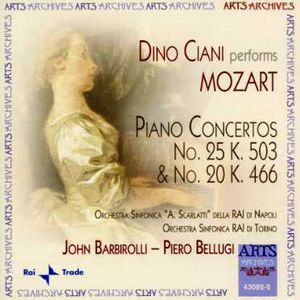 Dino Ciani Performs Mozart