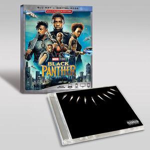 Black Panther Cd Blu-ray Bundle