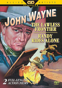 The Lawless Frontier /  Randy Rides Alone