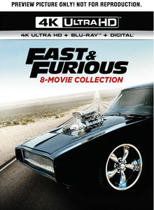 Fast & Furious: 8-Movie Collection