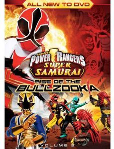 Power Rangers Super Samurai: Rise of the Bullzooka: Volume 3