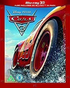 Cars 3 (2017) (3D + 2D /  Region Free) [Import]