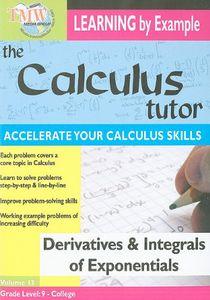Derivatives and Integrals of Exponentials