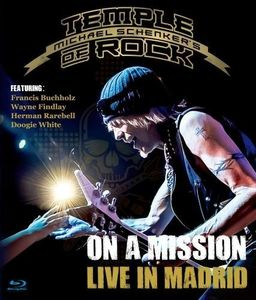 Michael Schenker's Temple of Rock: On a Mission: Live in Madrid [Import]