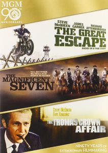 The Great Escape /  The Magnificent Seven /  The Thomas Crown Affair