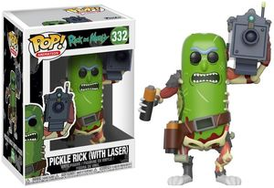 FUNKO POP! ANIMATION: Rick and Morty - Pickle Rick w/ Laser