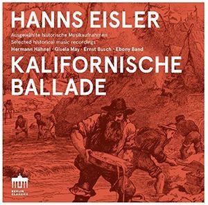Hanns Eisler: Kalifornische Ballade