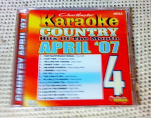Karaoke: Country Hits Of April 2007