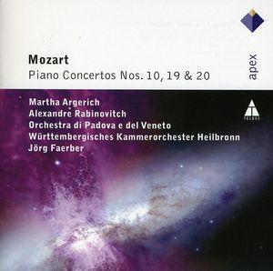 Mozart: Piano Concertos 10 & 19 & 20