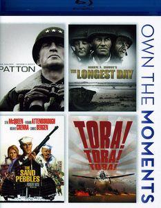 Patton /  The Longest Day /  The Sand Pebbles /  Tora! Tora! Tora!