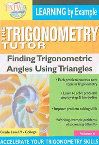 Triginometry: Finding Trig Functions Using Triangles