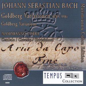 J.S. Bach-Goldberg Variations BWV 998