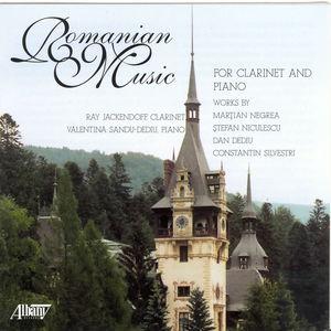 Romanian Music for Clarinet & Piano