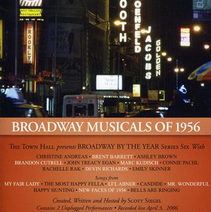 Broadway Musicals Of 1956