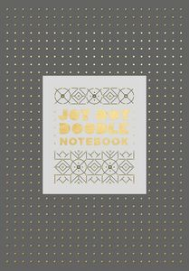 JOT DOT DOODLE NOTEBOOK GRAY AND GOLD