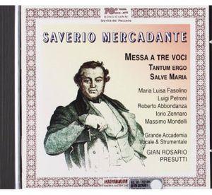 Messa Concertata /  Tantum Ergo /  Salve Maria