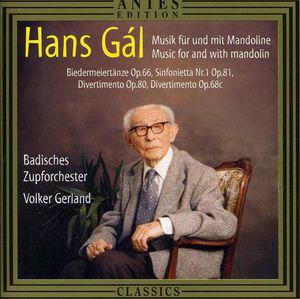 Music for Mandolin /  Biedermeiertanze