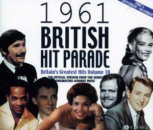 1961 British Hit Parade Part 3 September: December