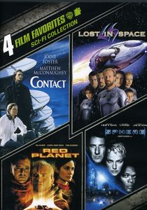 4 Film Favorites: Sci-Fi Collection