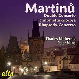 Double Concerto /  Sinfonietta Giocosa /  Rhapsody