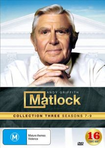Matlock: Collection 3 (Seasons 7-9) [Import]