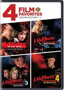 4 Film Favorites: A Nightmare on Elm Street 1-4
