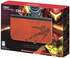 Nintendo New 3DS XL Hardware: Samus Edition