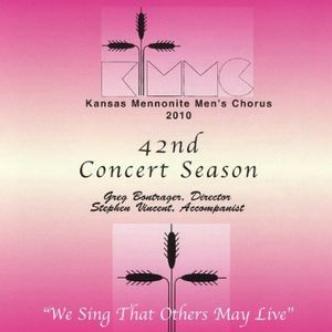 42nd Concert Season (2010): We Sing That Others May Live