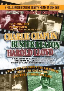 A Burlesque on Carmen /  The Sin of Harold Diddlebock /  Steamboat Bill Jr