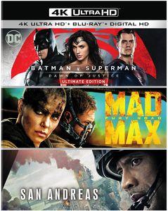 Batman v Superman: Dawn of Justice Ultimate Edition /  Mad Max: Fury RoadSan Andreas