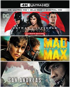 Batman v Superman: Dawn of Justice Ultimate Edition /  Mad Max: Fury RoadSan Andreas