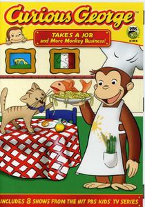Curious George: Takes a Job and More Monkey Business!