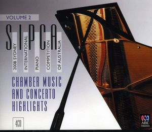Sydney Int Pno Competition 2008 V2 /  Various